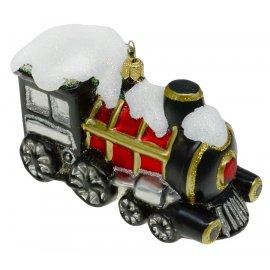 Bombka szklana lokomotywa
