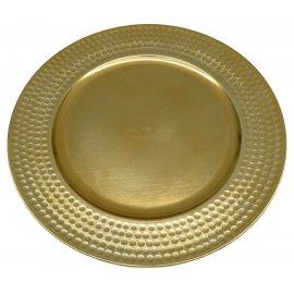 Podtalerz złoty wytłaczany 33cm