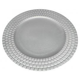 Podtalerz srebrny wytłaczany 33cm