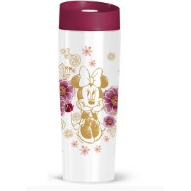 Kubek termiczny Minnie Flowers Gold 400 ml DISNEY