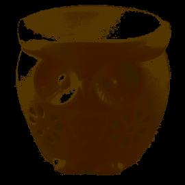 Kominek na olejek zapachowy Sowa 9x9,5cm TADAR