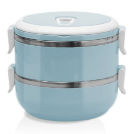 Termos obiadowy 2-poziomowy 1,2L mix Smart Kichen