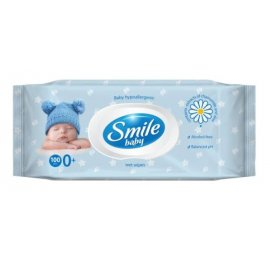 Chusteczki Nawilżane SMILE Baby 100szt.