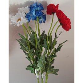 Gałązka Kwiaty Margaretka
