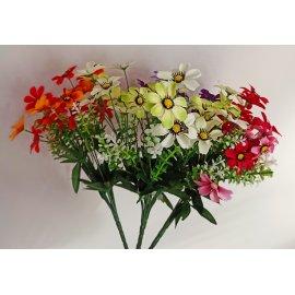 Gałązka sztucznych kwiatów 30cm mix Wielkanoc