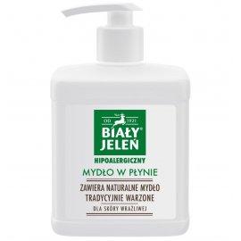 Naturalne mydło w płynie 500ml z pompką Biały Jeleń