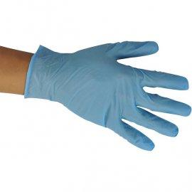 """Rękawice nitrylowe """"L"""" para"""