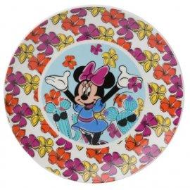 Talerz porcelanowy Minnie Cactus 19 cm DISNEY