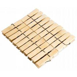 Klamerki bambusowe do bielizny 20 sztuk DOMEX