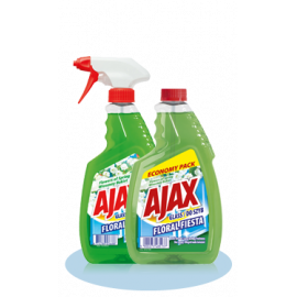 Ajax płyn do szyb Wiosenny bukiet