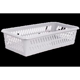 Koszyk plastikowy jasny popiel 19,5x10x5cm PUCUŚ