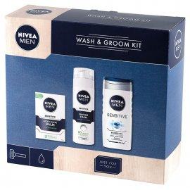 Zestaw kosmetyków NIVEA MEN Wash & Groom Kit Dzień Ojca