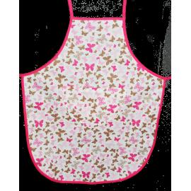 Fartuszek Dziecięcy kuchenny Motylki różowy