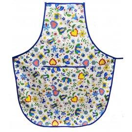 Fartuch kuchenny duży kaszubski wzór