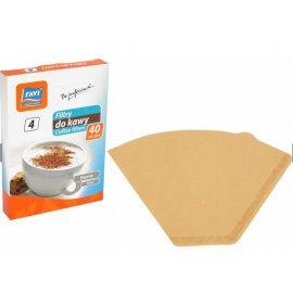 Filtry do kawy rozmiar 4, 40 szt RAVI