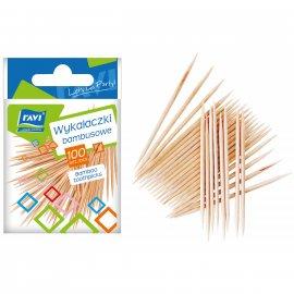Wykałaczki bambusowe 100 szt. RAVI