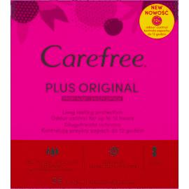 Carefree Plus Original Wkładki higieniczne świeży zapach 56 sztuk