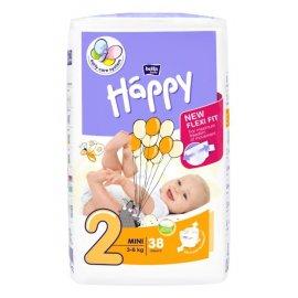Happy Pieluchy 2 Mini 38 szt. pieluszek