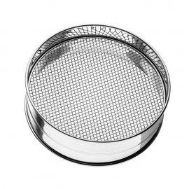 Sito do przesiewania mąki , O300x(H)100 mm, dziurki 0,5x0,5 mm
