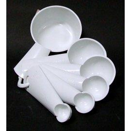 Łyżeczki z miarką 6 plast team