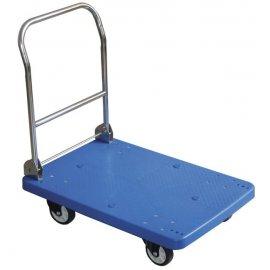 Wózek platformowy ze składanym uchwytem