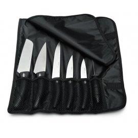 Zestaw 5 noży z pokrowcem
