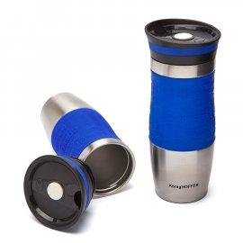Kubek termiczny KonigHOFFER Loara 400 ml niebieski Tadar
