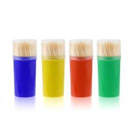 Zestaw wykałaczek wykałaczki 140szt. mix kolorów