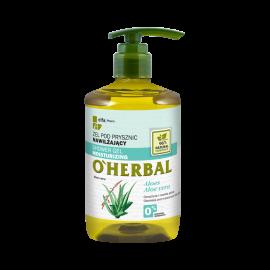 Żel pod prysznic z ekstraktem z aloesu 750ml O'Herbal