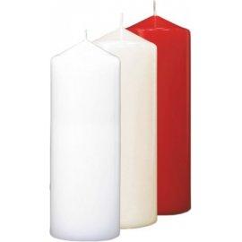 Świeca Walec 60/150 Czerwony Bispol