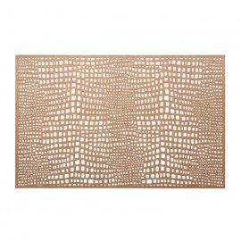 Mata stołowa Glamour różowe złoto 30x45 cm Ambition