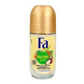 Fa Amazonia Spirit Dezodorant roll-on damski 50ml