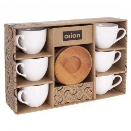 Zestaw filiżanek do kawy espresso 100 ml 6 sztuk