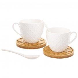 Zestaw porcelanowych filiżanek 250 ml NA PREZENT