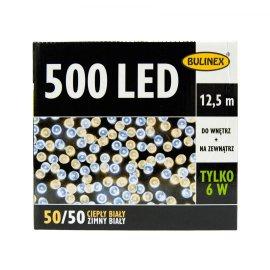 Lampki LED 500 białe ciepłe/zimne światło BULINEX