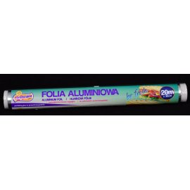 Folia aluminiowa 20m Perfekcyjna poleca