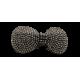 Spinka kokardka błyszcząca 6cm JAWA1139
