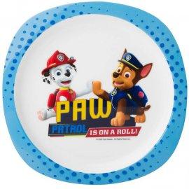 Plastikowy talerz płytki Psi Patrol Boys 22cm