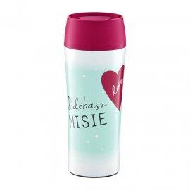 Kubek termiczny Love Podobasz Misie 400 ml AMBITION na Walentynki