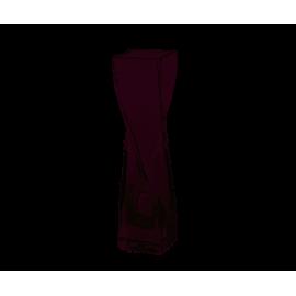 Wazon szklany skręcony 20cm EDWANEX