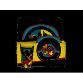 Zestaw Mickey Everywhere 3-elementowy DISNEY