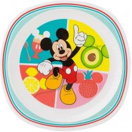 Plastikowy talerz płytki Mickey Everywhere 22cm
