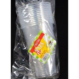 Kieliszki 12 plastik Pyza