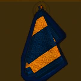 Ścierka kuchenna czapla 50x70 żółto-szara Zwoltex