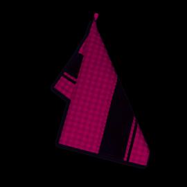Ścierka kuchenna czapla 50x70 Amarantowa Zwoltex