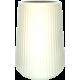 Wazon biały prążkowany 17cm Camomile Lubiana