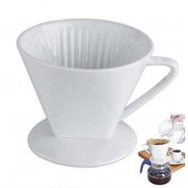 Lejek do filtrowania kawy zaparzacz porcelanowy ORION