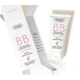 BB aktywny krem na niedoskonałości/opalony brzoskwiniowy Ziaja