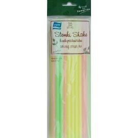 Słomki SHAKE biodegradowalne 20 szt. RAVI