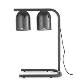 Lampa do podgrzewania potraw, czarna